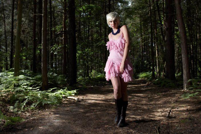 Location fashion Photography Tunbridge Wells with Leah