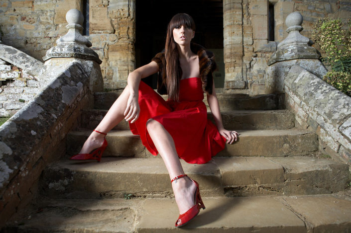 Fashion photography Penshurst with Sasha