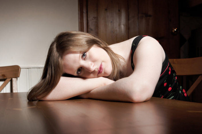 Location Portraits in Tonbridge with Vicky