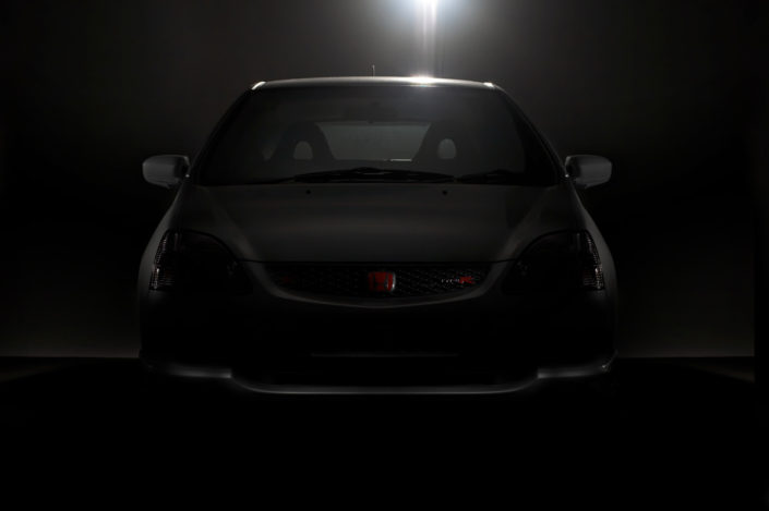 Honda Civic Type R Studio Shot