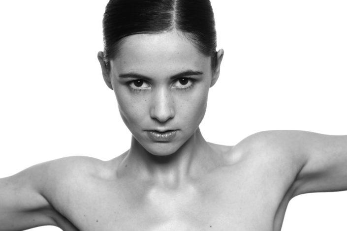Nathalie Petronelli Black And White Portrait