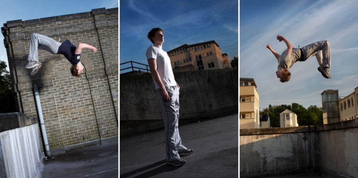 Parkour Photography Tunbridge Wells with Simon B