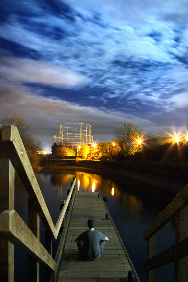The Jetty at Tonbridge Locks by Chris Marwood Photography